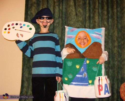 Clever DIY Halloween Costumes  26 best Art Inspired Halloween Costumes images on