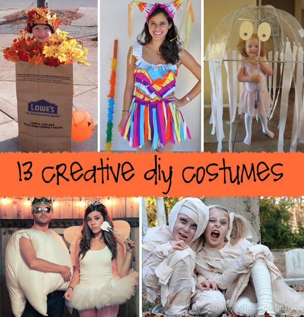 Clever DIY Halloween Costumes  Creative DIY Halloween Costumes