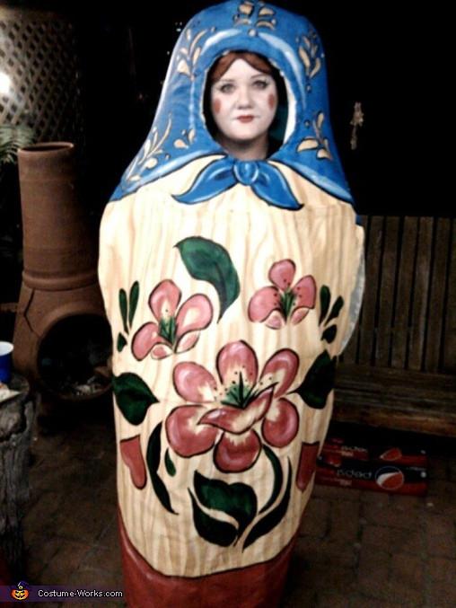 Clever DIY Halloween Costumes  Homemade Matryoshka Costume