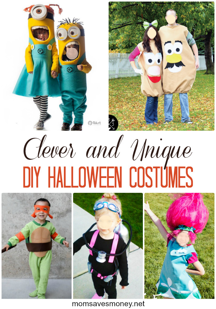 Clever DIY Halloween Costumes  15 Clever & Unique DIY Halloween Costumes Mom Saves Money