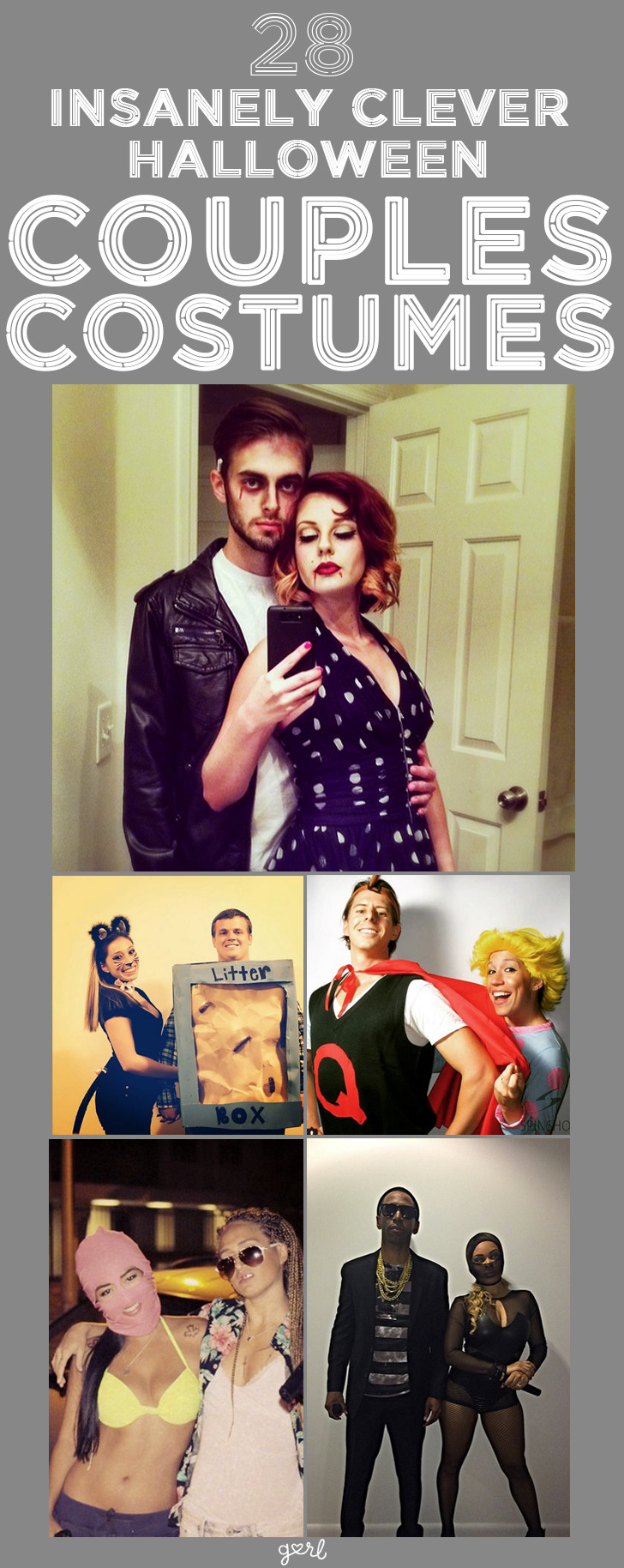 Clever DIY Halloween Costumes  28 Insanely Clever DIY Couples Costumes For Halloween No