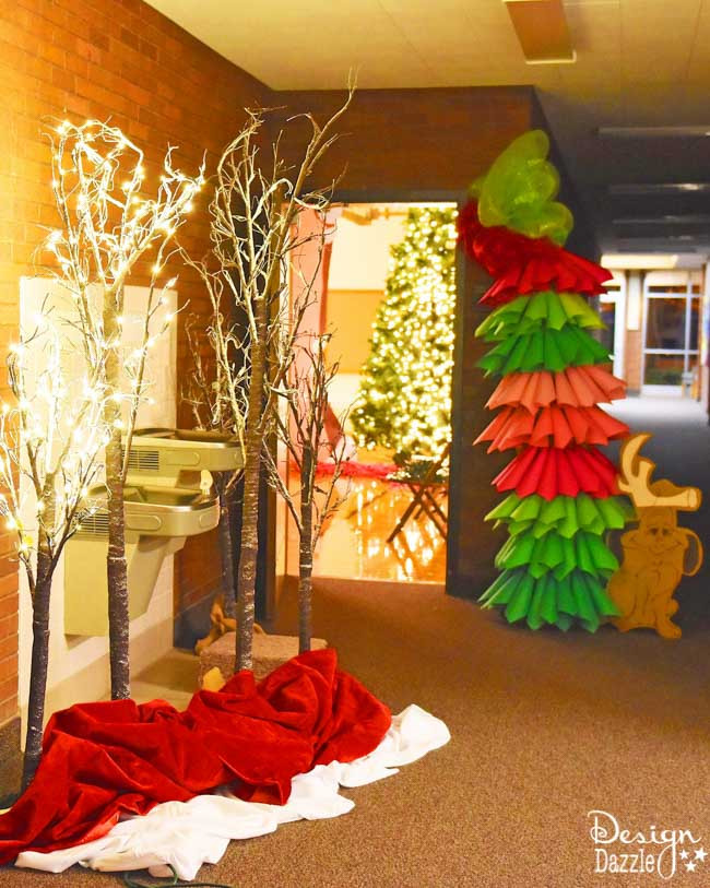 Company Christmas Party Ideas On A Budget  Church Christmas Party Idea DIY Whoville Grinch Themed