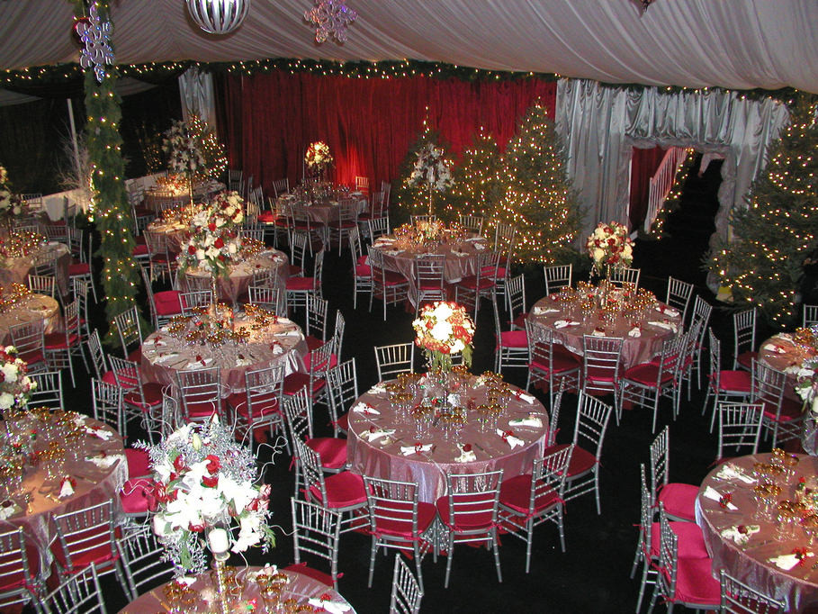 Company Christmas Party Ideas On A Budget  Alperson Party Rentals Tents Gallery
