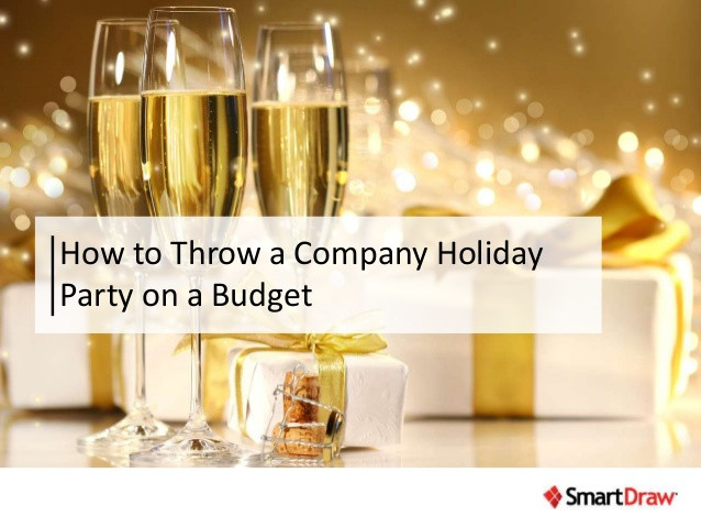 Company Christmas Party Ideas On A Budget  How to Throw a pany Holiday Party on a Bud