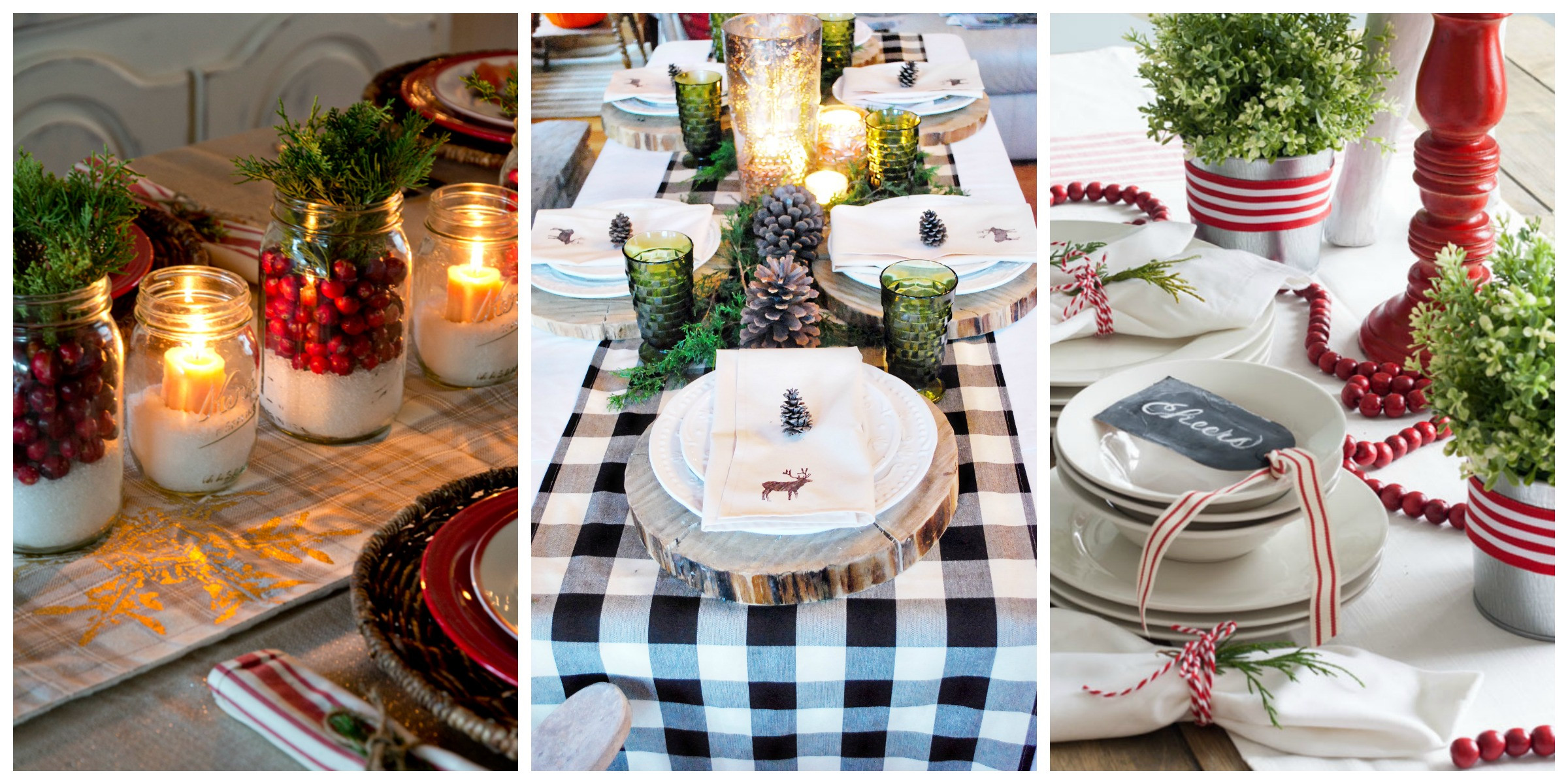Company Christmas Party Ideas On A Budget  32 Christmas Table Decorations & Centerpieces Ideas for