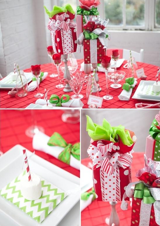 Company Christmas Party Ideas On A Budget  Holiday Table Decor Ideas Any Bud