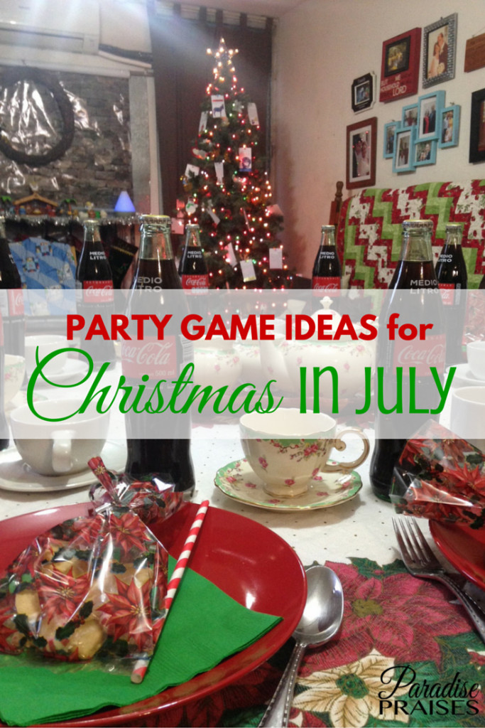 Cool Christmas Party Ideas  7 Cool Party Game Ideas for Christmas in July