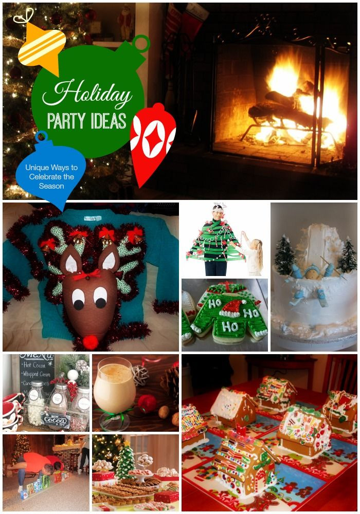 Cool Christmas Party Ideas  Holiday Party Themes Unique Ways to Celebrate the Season