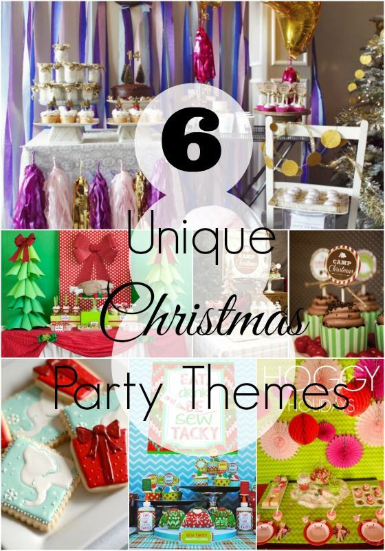 Cool Christmas Party Ideas  6 Unique Christmas Party Themes