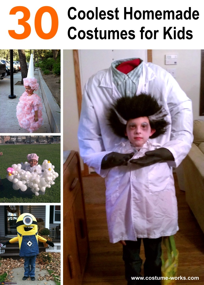 Cool DIY Halloween Costumes  30 Coolest Homemade Costumes for Kids