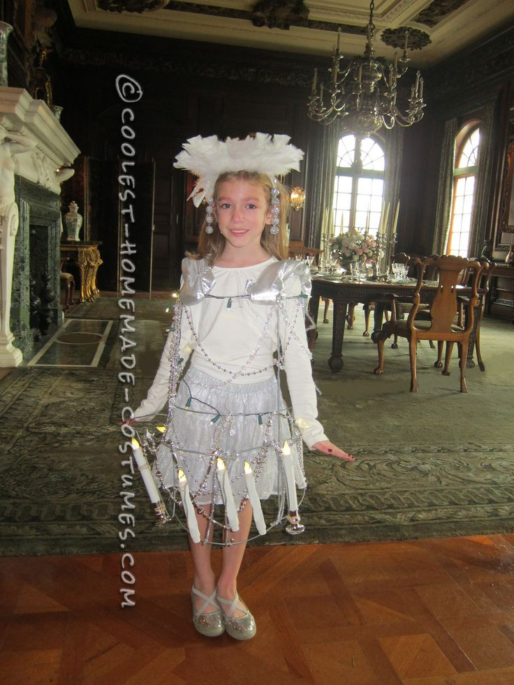 Cool DIY Halloween Costumes  Cool DIY Costume Idea My Bright Daughter The Chandelier