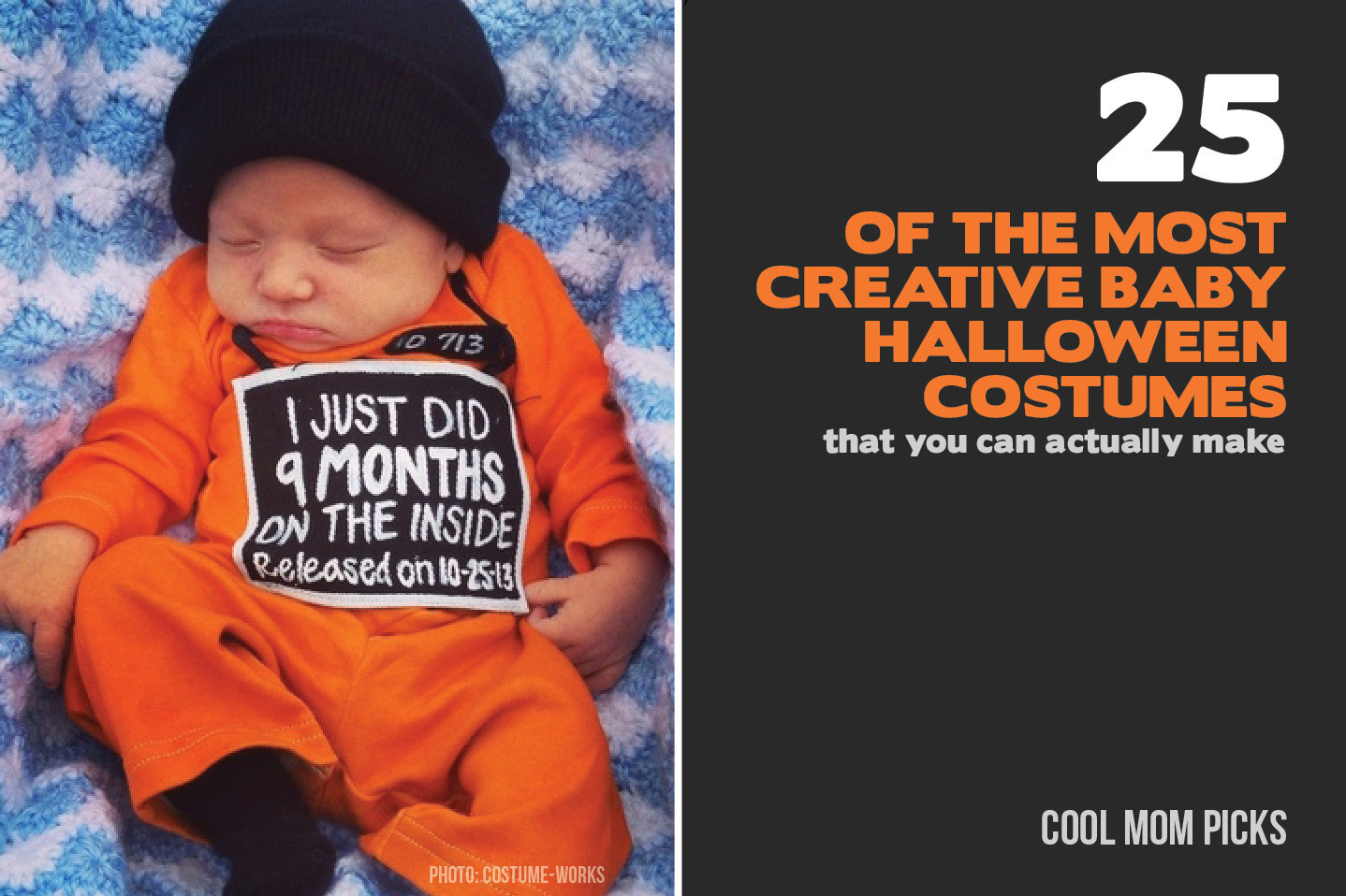 Cool DIY Halloween Costumes  25 of the most adorably creative baby costumes you can DIY