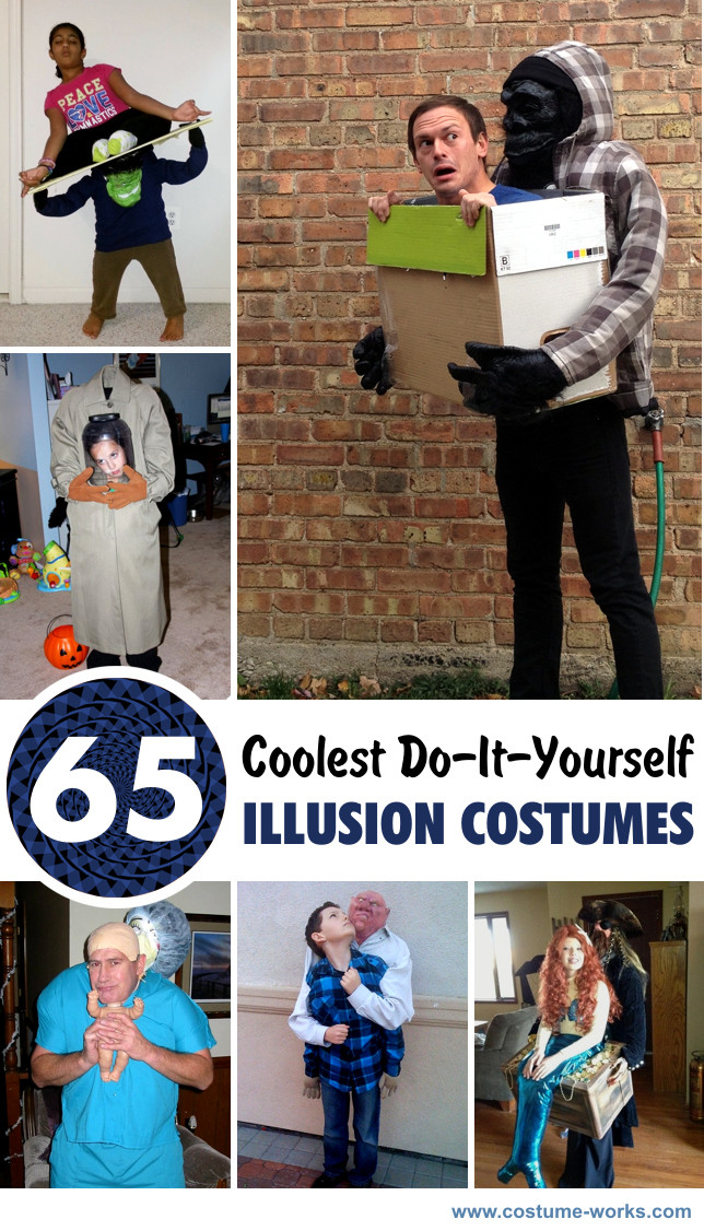Cool DIY Halloween Costumes  65 Coolest DIY Illusion Costumes