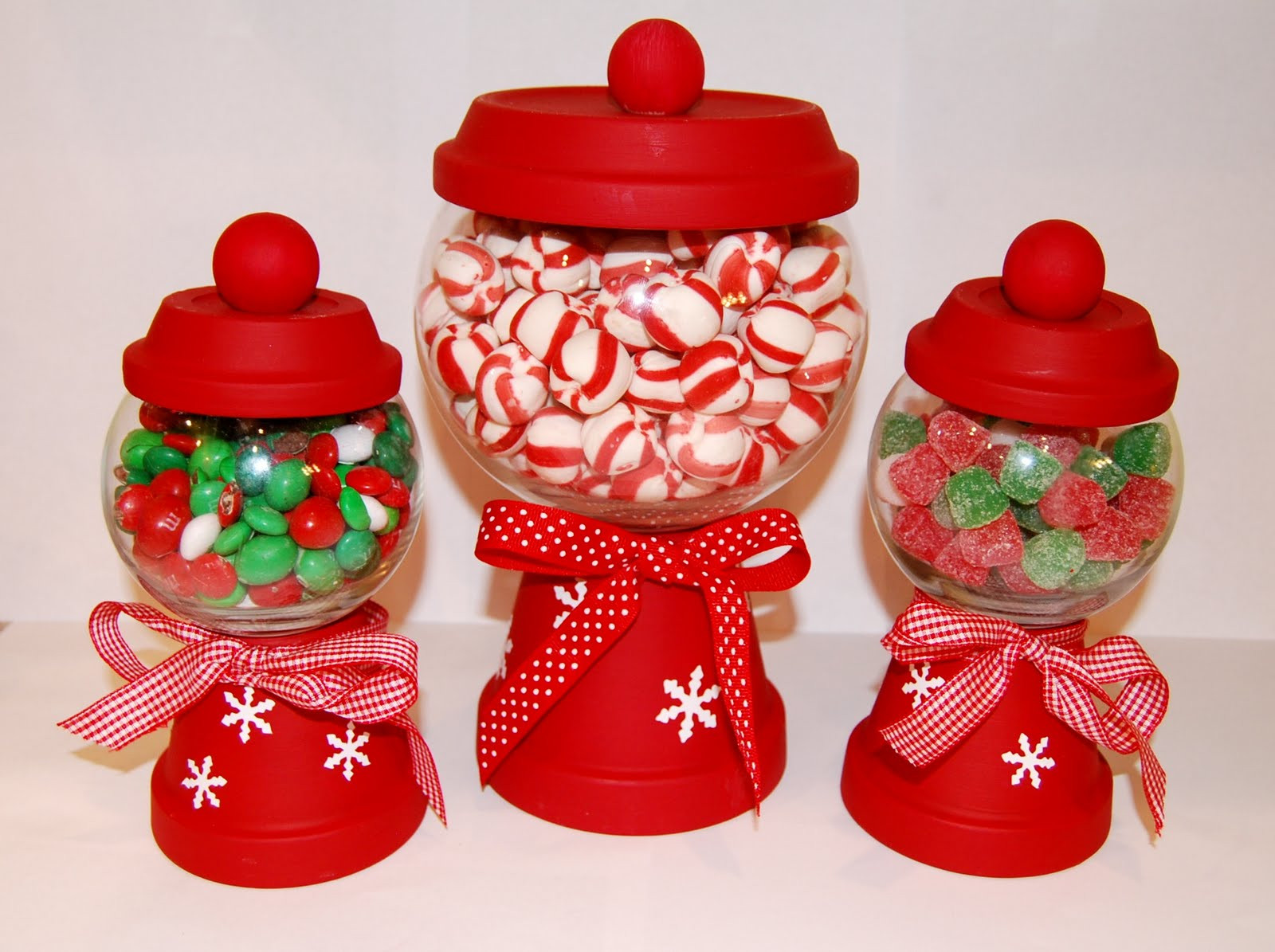 Craft Ideas For Christmas Gift  Faux Gumball Machines