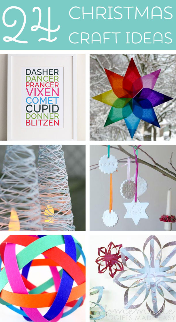 Craft Ideas For Christmas Gift  Festive Christmas Craft Ideas