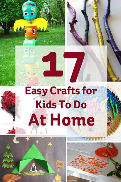 Crafts For Kids To Do At Home  17 Easy Crafts for Kids to do at Home Hobbycraft Blog