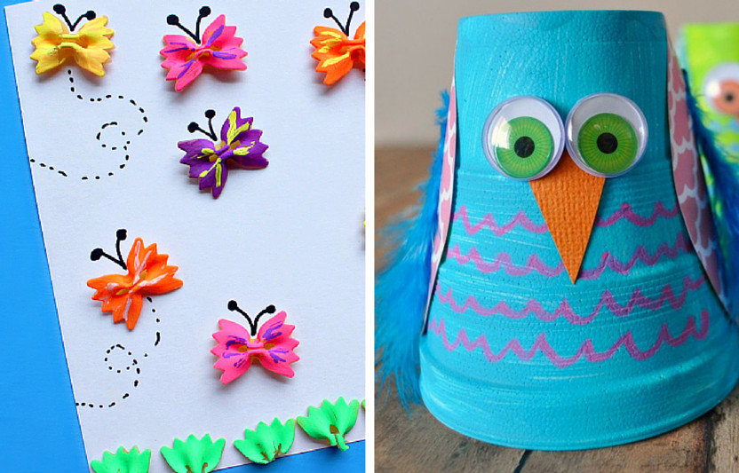 Crafts For Kids To Do At Home  31 Crafts for Kids to Make at Home