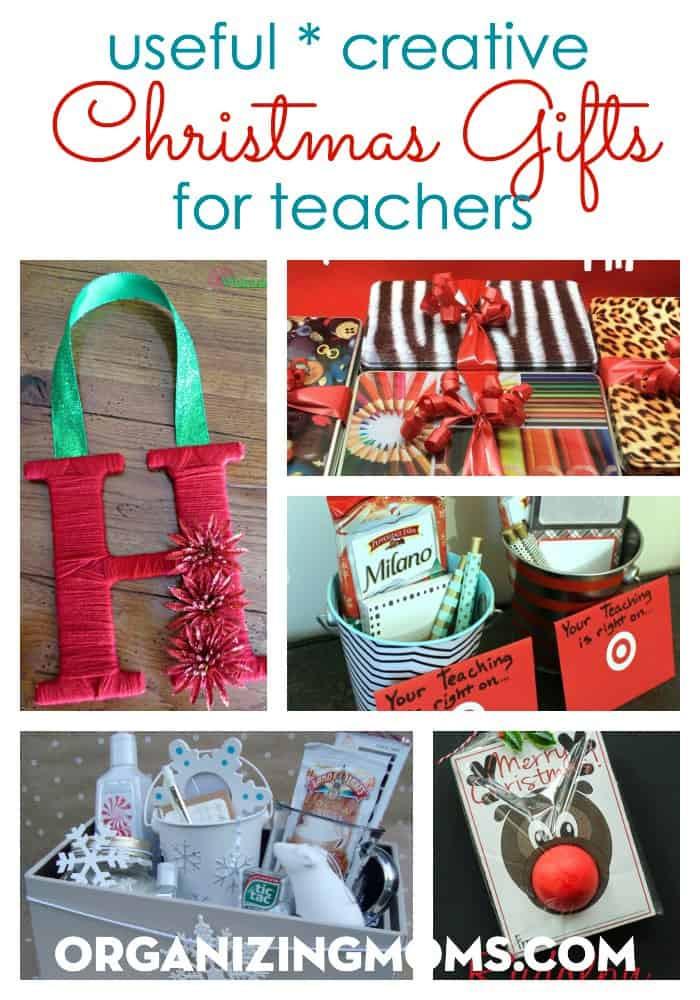 Creative Christmas Gift Ideas  Useful Creative Christmas Gifts for Teachers Organizing Moms