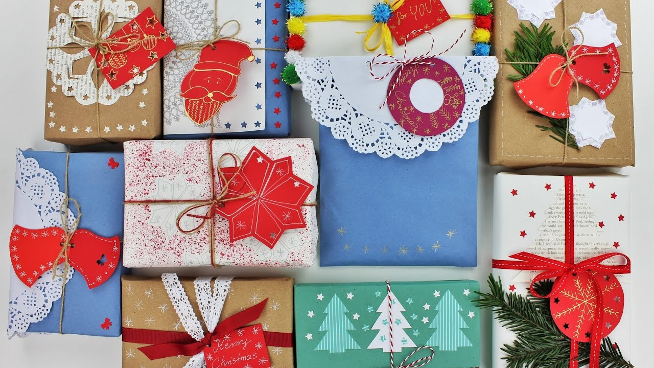 Creative Christmas Gift Ideas  10 Creative Christmas Gift Wrapping Ideas Wrapping ts