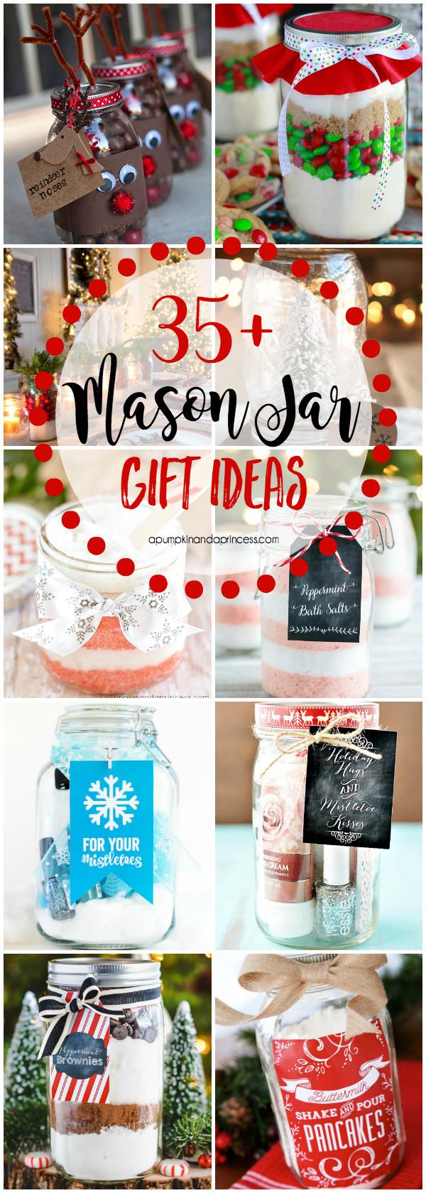 Creative Christmas Gift Ideas  Christmas Mason Jar Gifts
