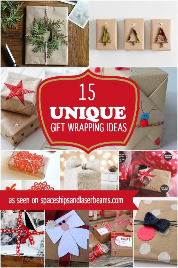 Creative Christmas Gift Ideas  15 Unique Christmas Gift Wrapping Ideas
