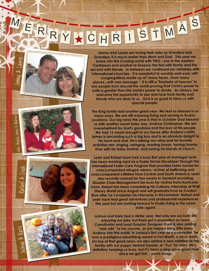Creative Christmas Letter Ideas  17 Best images about Christmas Letters on Pinterest