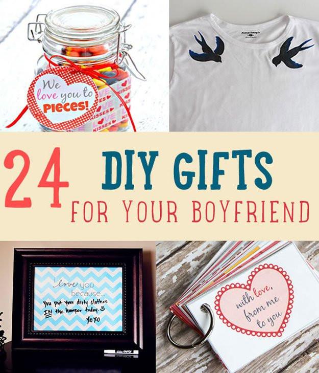 Cute Christmas Gift Ideas For Your Boyfriend  24 DIY Gifts For Your Boyfriend