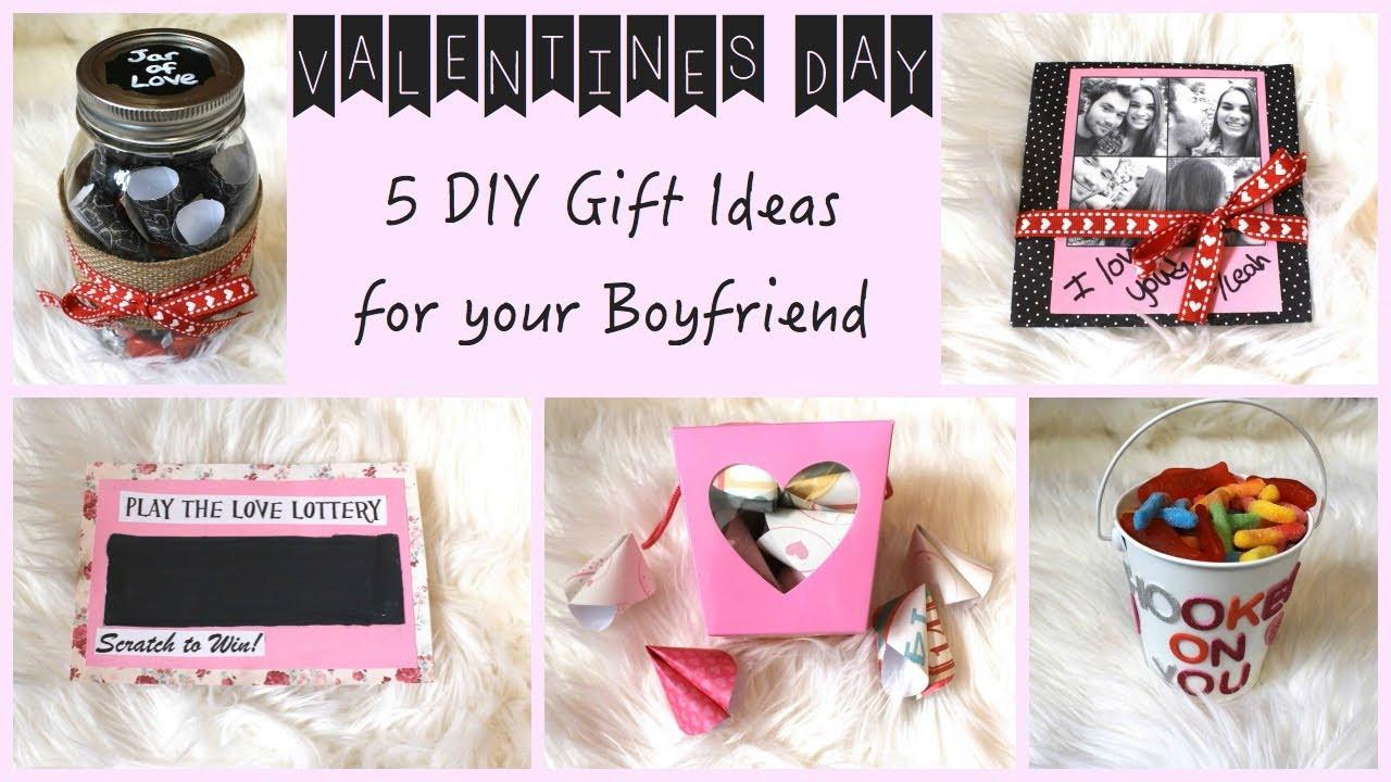 Cute Christmas Gift Ideas For Your Boyfriend  5 DIY Gift Ideas for Your Boyfriend