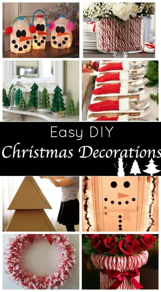 Cute DIY Christmas Decorations  Cute & Easy Holiday Decorations Princess Pinky Girl