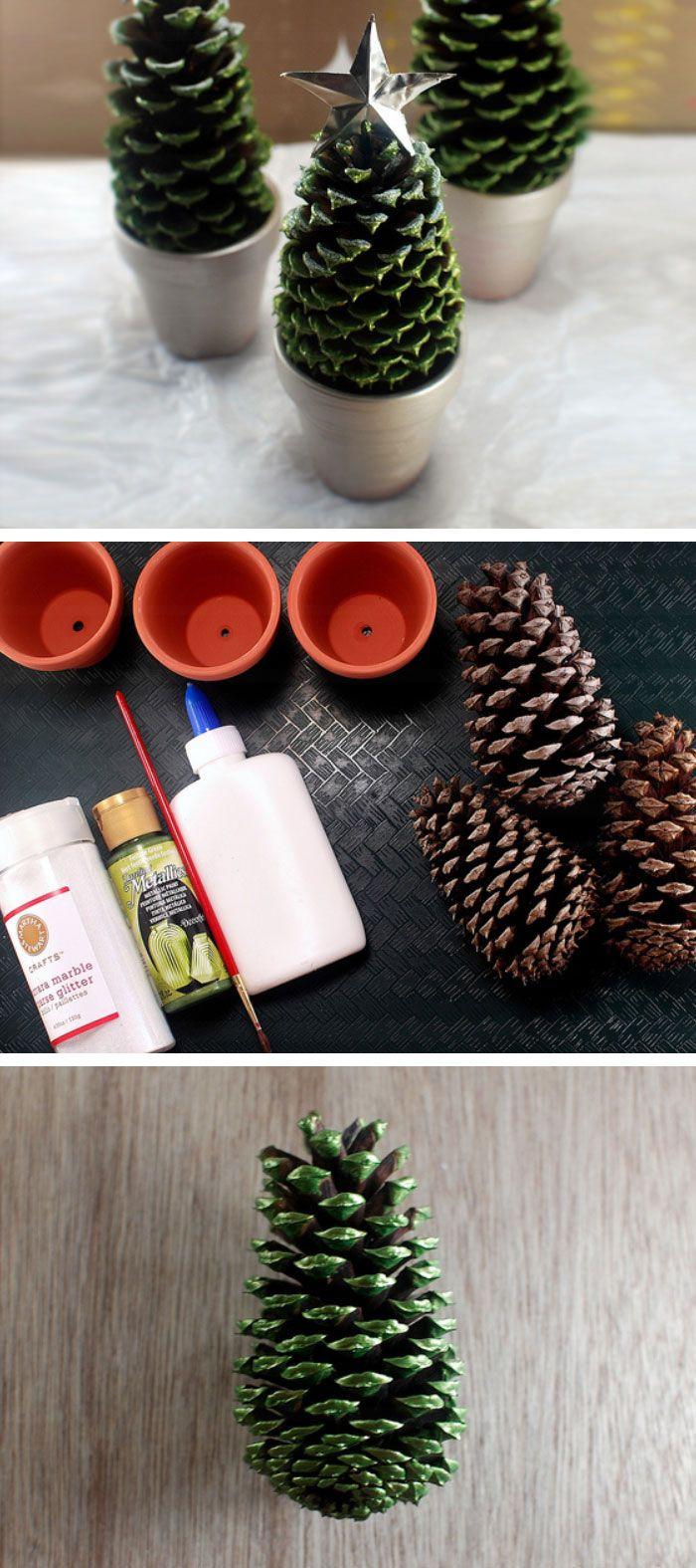 Cute DIY Christmas Decorations  25 best ideas about Diy christmas decorations on