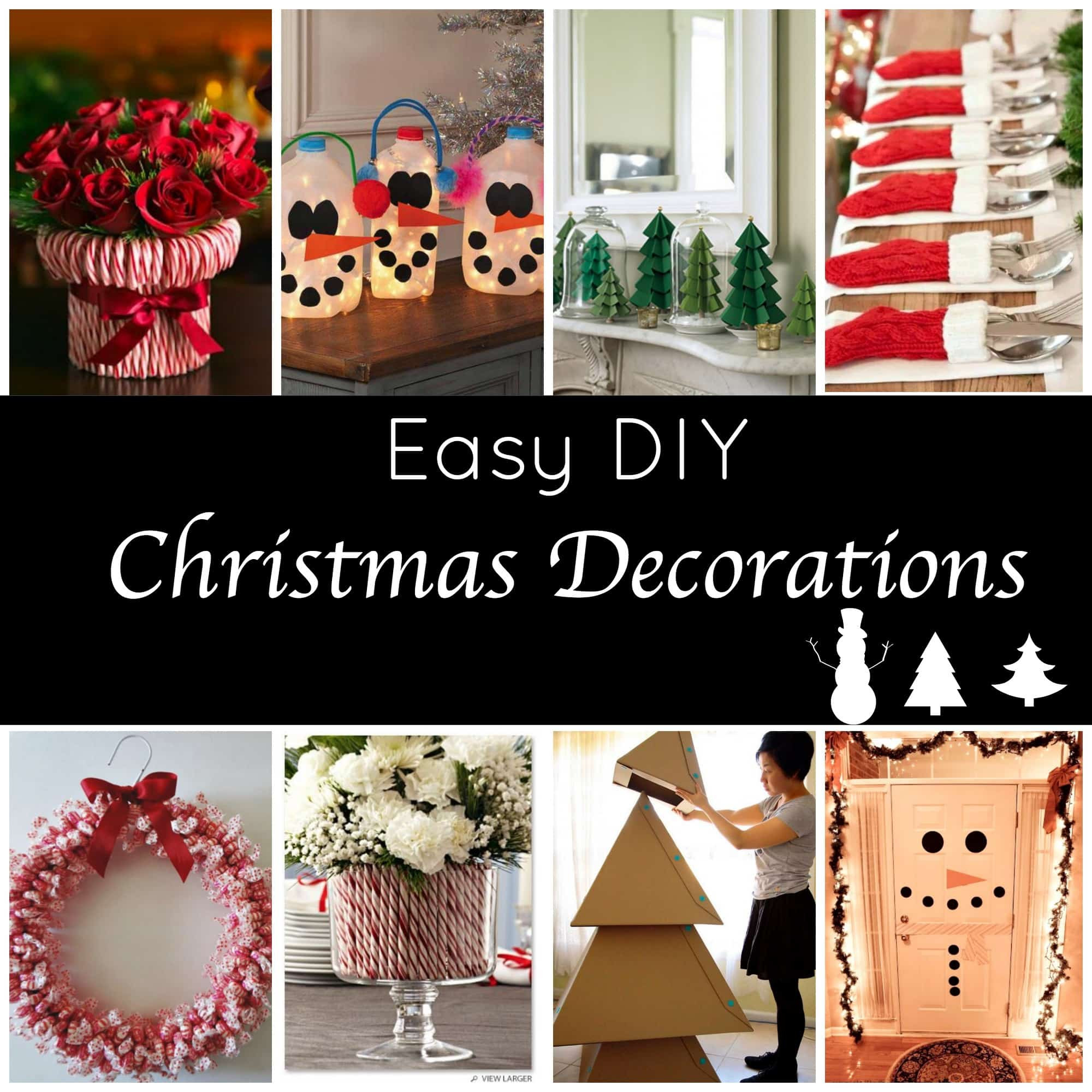 Cute DIY Christmas Decorations  Cute & Easy Holiday Decorations Page 2 of 2 Princess