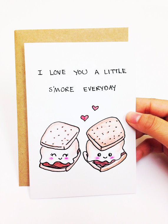 Cute Things To Say In A Birthday Card  23 Valentine's Day Cards to Express Your Love in a Quirky