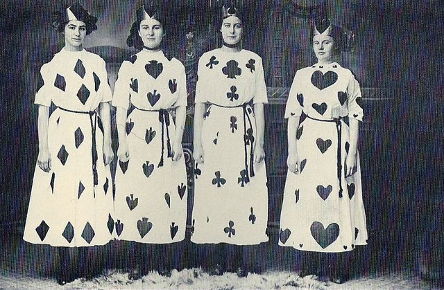 Deck Of Cards Halloween Costumes  A Halloween Historical Look at Masquerades Costume Balls
