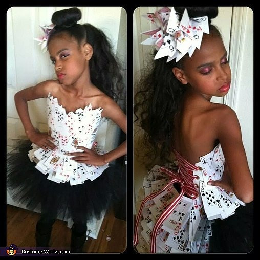 Deck Of Cards Halloween Costumes  21 DIY Kids Halloween Costumes From Old Clothes