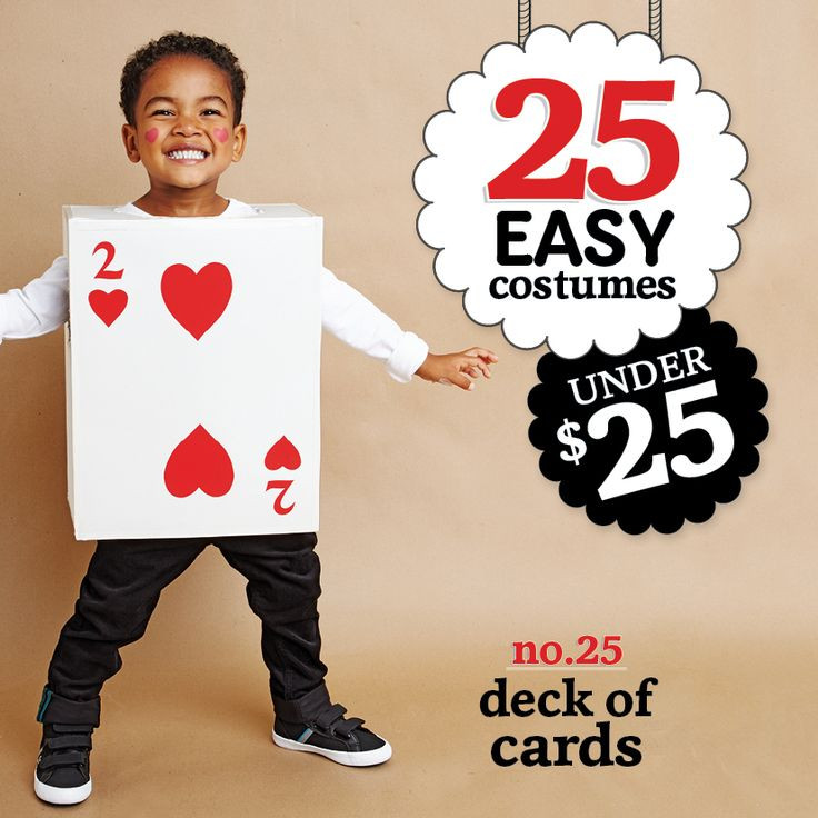 Deck Of Cards Halloween Costumes  No sew Halloween costumes Cardboard boxes