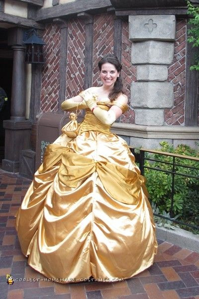 DIY Belle Costume  29 best Beauty and the Beast Costume Ideas images on