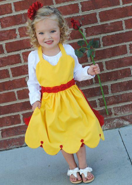 DIY Belle Costume  50 DIY Disney Costumes