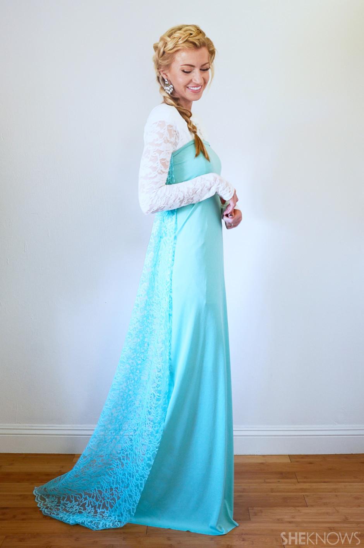 DIY Belle Costume  Easy DIY Disney princess Halloween costumes