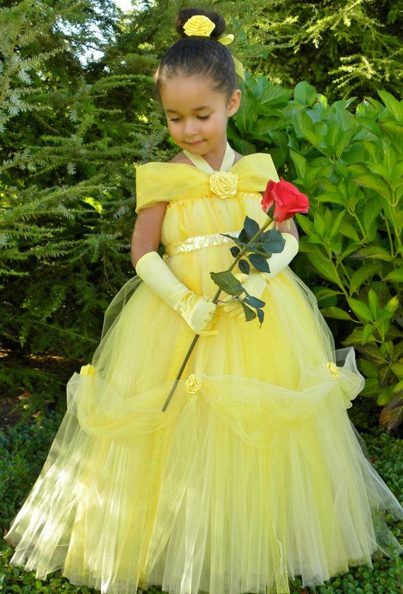 DIY Belle Costume  tutu belle DIY for Life