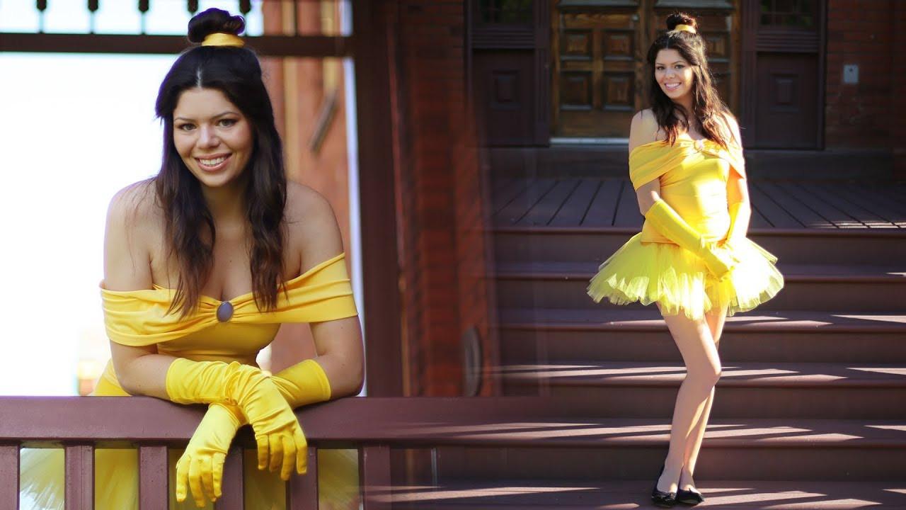 DIY Belle Costume  BELLE DIY DISNEY PRINCESS COSTUME