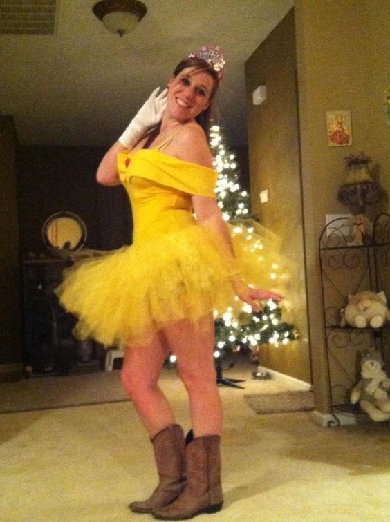 DIY Belle Costume  DIY Belle Costume but without those boots