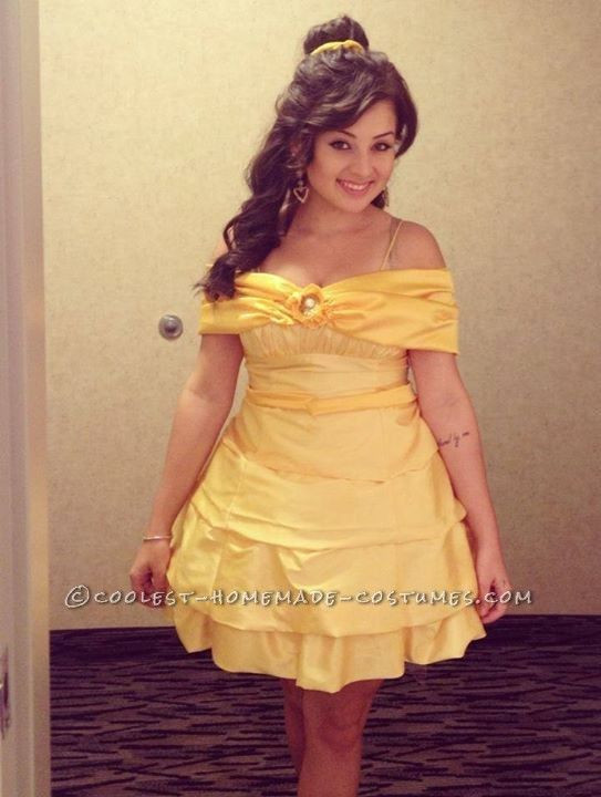 DIY Belle Costume  1000 images about Beauty and the Beast Costume Ideas on