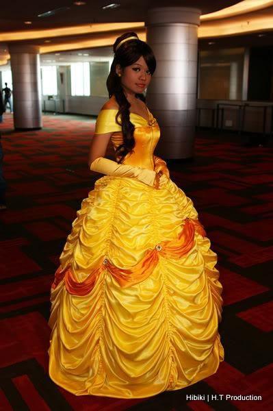 DIY Belle Costume  DIY Princess Belle s Dress DIY I love how intricate it