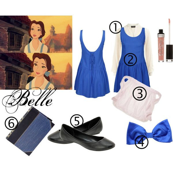 DIY Belle Costume  DIY Halloween Costume Belle from Beauty and the Beast