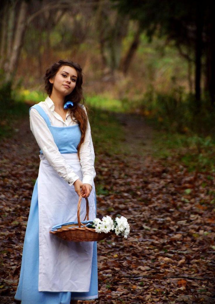 DIY Belle Costume  Disney princess cosplay amazing Belle Disney
