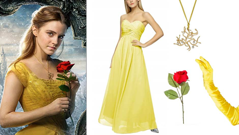 DIY Belle Costume  Here's Everything You Need To DIY A Belle Costume From