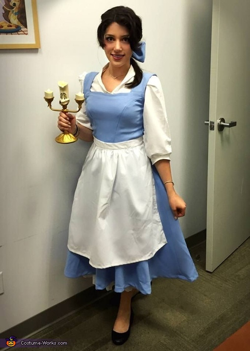 DIY Belle Costume  Belle Beauty and the Beast Costume 4 4
