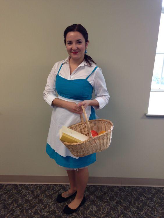 DIY Belle Costume  DIY Belle costume Disney trip Pinterest