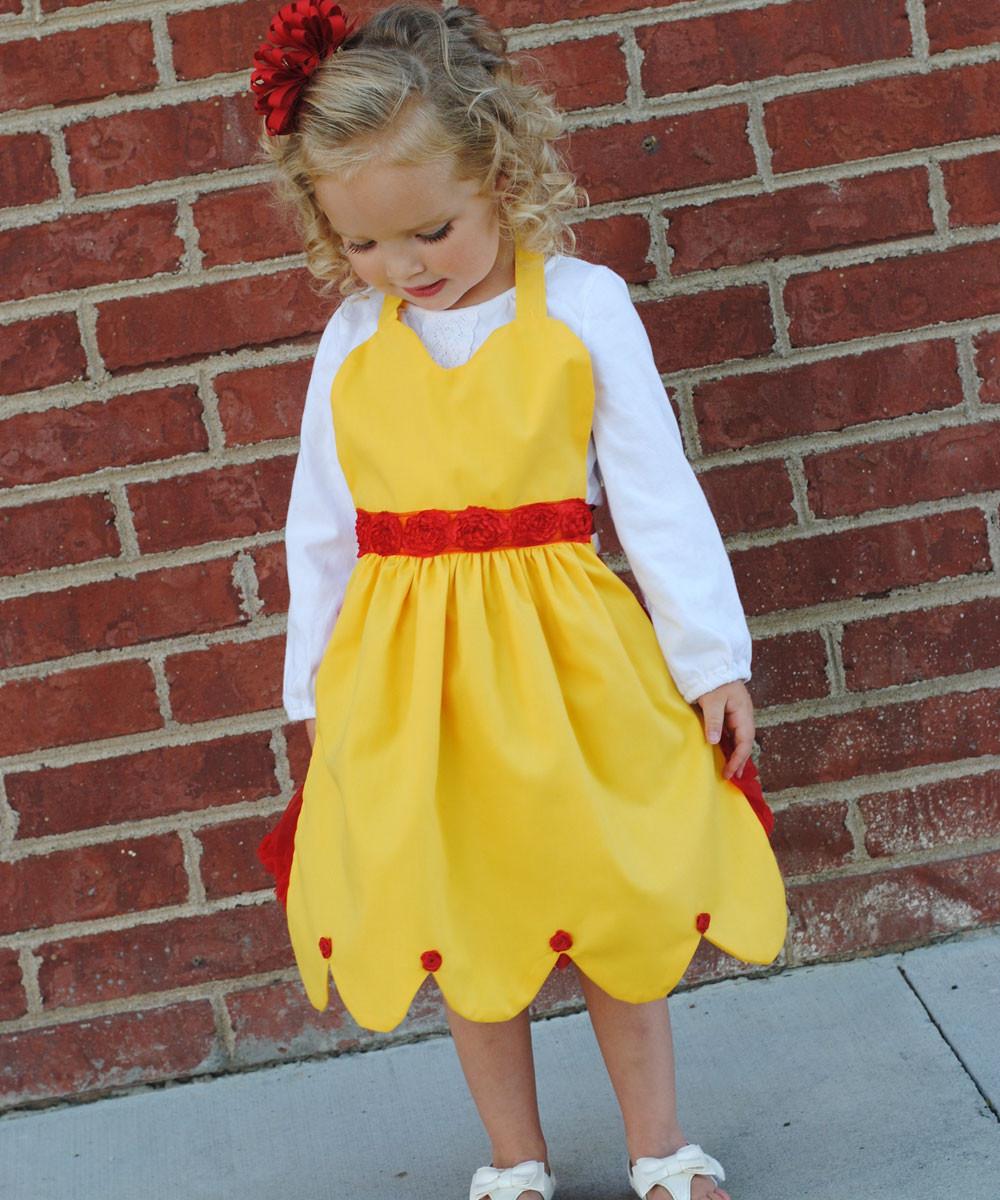 DIY Belle Costume  Easy DIY Belle Costume and Free Pattern
