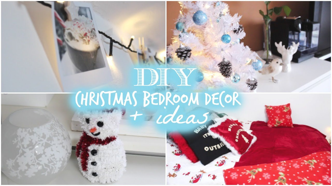 DIY Christmas Bedroom Decor  DIY Christmas Bedroom Decor Ideas